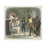 Hubert Taken from Sanctuary at Boisars Reproduction procédé giclée par James William Edmund Doyle