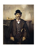Mediator or Portrait of Giuseppe Giani, 1891 Giclee Print by Giuseppe Pellizza da Volpedo