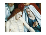 France, Nouans-Les-Fontaines, St Martin's Church, the Virgin and Christ, Detail from Pieta, 1474 Giclee Print by Jean Fouquet