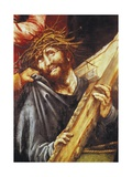 Christ Exhausted, Ca 1523-1525 Giclée-tryk af Matthias Grünewald