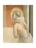 Christ at Column, Virgin and Figure of Penitent Dominican Saint, 1438-1447 Reproduction procédé giclée par Giovanni Da Fiesole