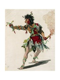 Sketch for Costume of Mars in Opera Castor and Pollux Giclee Print by Jean-Philippe Rameau