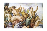 Damned in Hell, from Last Judgment Fresco Cycle, 1499-1504 Giclee Print by Luca Signorelli