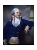 Portrait of Mr Kinchant in County of Cheshire Hunting Costume Giclee Print by John Russell