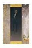 The Actor Josef Lewinsky as Carlos in Goethe's Clavigo, 1895 Giclée-Druck von Gustav Klimt