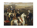 Passage of the Tagliamento in Front of Valvasone Led by General Napoleon Bonaparte Giclee Print by Hippolyte Lecomte