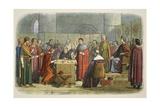 Edward Acknowledged as Suzerain of Scotland Reproduction procédé giclée par James William Edmund Doyle