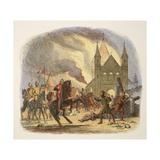 William I Receiving a Fatal Hurt at Mantes Reproduction procédé giclée par James William Edmund Doyle