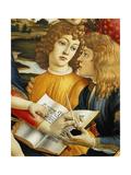 Lorenzo Magnificent and His Brother Giuliano De Medici Reproduction procédé giclée par Sandro Botticelli