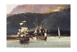 Resolution and Adventure in Matavai Bay Giclee Print