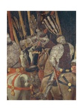 The Intervention of Micheletto Attendolo, Detail from the Battle of San Romano Giclée-tryk af Paolo Uccello