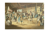 Scene in a Cochin-Chinese Opera, Plate 13 from 'A Voyage to Cochinchina' by John Barrow Giclee Print by William Alexander