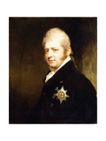 Portrait of Prince Adolphus Frederick Giclee Print by Sir William Beechey