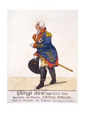 George III of Britain in 1810 on His Fifty Year Jubilee Giclee Print by Robert Dighton