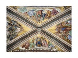 Frescoed Vault Reproduction procédé giclée par Giovanni Da Fiesole