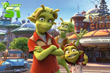 Planet 51 Affiches