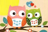 Sweet Owl - Hello Poster
