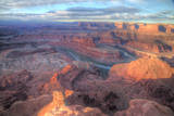 Colorado River Vista, Dead Horse Point, Utah Lámina fotográfica por Vincent James