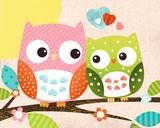 Sweet Owl - Hello Posters