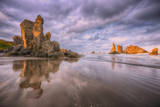 Beach Formations, Bandon, Oregon Coast Photographic Print by Vincent James