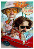 Vegas Bound Pôsters por Leslie Ditto
