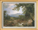 Monument Mountain Poster di Asher Brown Durand