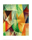 A Window, Study for 'The Three Windows', 1912/13 Giclée-tryk af Robert Delaunay