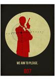 James Poster Black 2 Posters por Anna Malkin