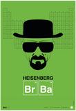 Heisenberg Poster Poster por  NaxArt