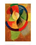 Cicular Shapes, Sun No.2, 1912/13 Giclée-tryk af Robert Delaunay