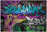 Graffiti Wall Urban Art Poster