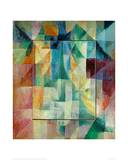 Window Picture, 1912 Giclee Print by Robert Delaunay