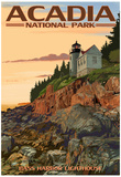 Acadia National Park, Maine - Bass Harbor Lighthouse Posters