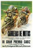 Motorcycle Racing Promotion Prints