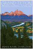 Grand Teton National Park - Snake River Overlook Posters