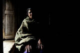 Thuli Maya Fuyal, Widow, in Her Small Room in Kathmandu, in Namaskar Association Photographic Print by Enrique Lapez-Tapia de Inas