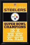 Pittsburgh Steelers Champions Plakater
