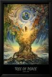 Tree Of Peace Kunstdrucke von Josephine Wall