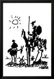Don Quichotte Posters par Pablo Picasso
