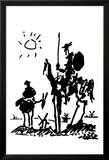 Don Quixote Poster by Pablo Picasso