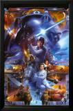 Star Wars - Saga Collage Poster