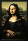 Mona Lisa Prints by  Leonardo da Vinci