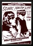 Vintage Sonic Youth NIRVANA STP Poster PICTURE Posters