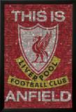Liverpool - Das ist Anfield, Englisch Kunstdrucke