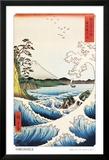 View from Satta Saruga Plakat av Ando Hiroshige