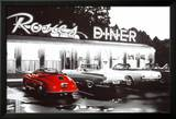 Rosie's Diner, voiture rouge Poster