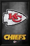 Kansas City Chiefs - Logo NFL Sports Poster Plakater