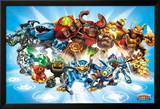 Skylanders Giants, personnages Affiches