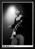 Jeff Beck Amsterdam 1972 Kunstdrucke