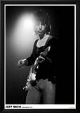 Jeff Beck Amsterdam 1972 Stampe